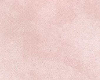 3yd Micro-Suede in Pale Pink