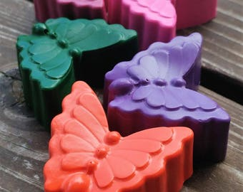 Butterfly Crayons set of 10 - Butterfly Party Favors - Butterfly Party - Garden Party