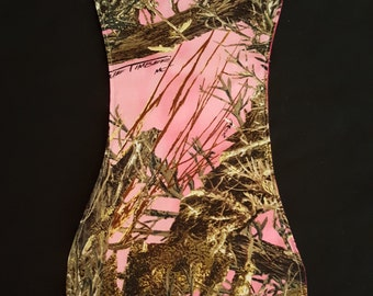 Pink Camouflage Custom Baby Burp Cloth