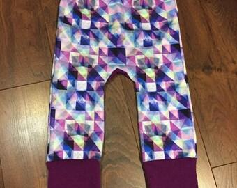 Purple Geometric Triangle Maxaloones Select A Size