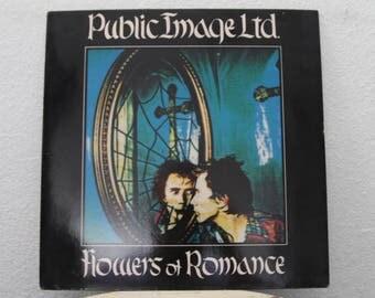 "Public Image Ltd. - ""Flowers Of Romance"" vinyl record, 12"" Single, 45 RPM"