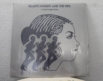 "Gladys Knight and the Pips - ""A Little Knight Music"" vinyl record"