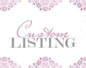 Custom Listing for Autumn