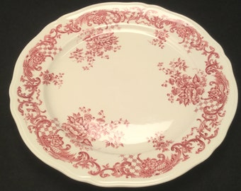 Villeroy and Boch Valeria Red 9 inch plate