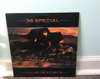 "38 Special ""Tour De Force"" vinyl record"