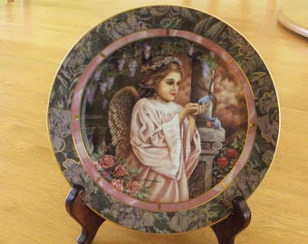 "Bradford Exchange Garden of Innocence Collection ""CHARITY"" plate #1797A"