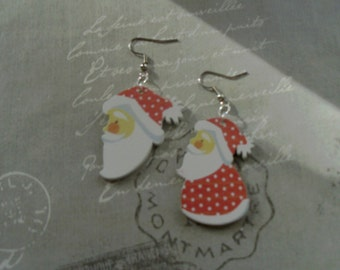 Santa Claus earring
