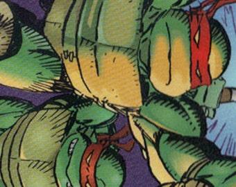 Teenage Mutant Ninja Turtle Bookmark - Christmas Gift - TMNT - Bookmark - Ninja - Martial Arts - Comic Book - Laminated - Card Stock Backed