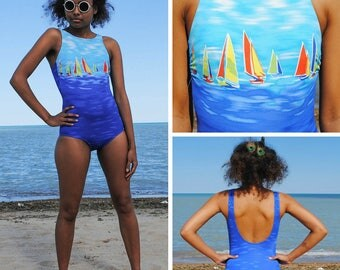 Boat One piece Swimsuit