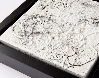 Original Black and White Abstract Painting
