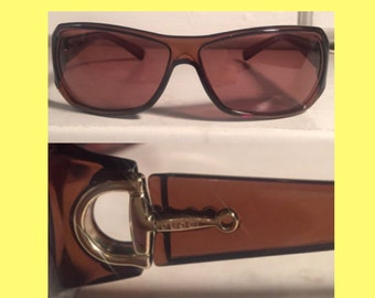 GUCCI brown sunglasses vintage