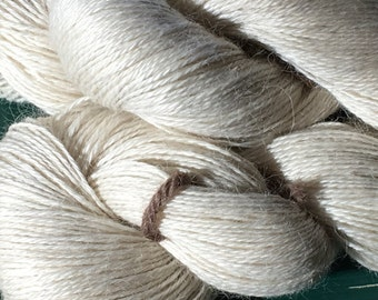 Ivory Suri Silk Lace Yarn