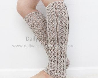 spring sale Light Gray womens leg warmers, long leg warmers, boot socks adult, for girls, for women, for her, for mom, for girlfriend