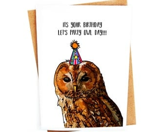 Images Of Birthday Owl Puns Rock Cafe