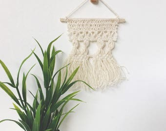 Dollhouse Macrame Wall Hanging