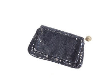 Vintage 60s Beaded Sequin Clutch