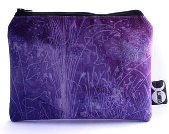 Purple Reign Makeup Bag - Magical Cosmetic Storage Pouch
