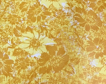 Gold and yellow Contact paper from the 1960's