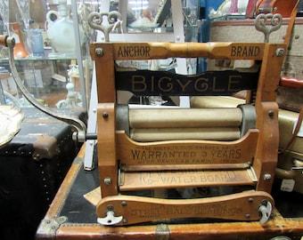 "Anchor Laundry Wringer ""Bicycle"" model"