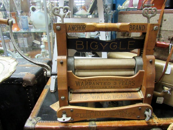 "Anchor Laundry Wringer ""Bicycle"" model"