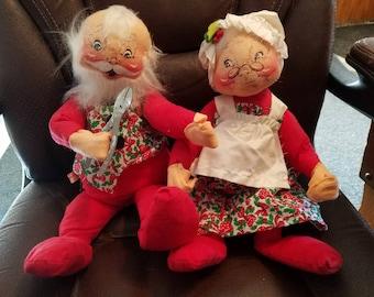 Annalee Mr. & Mrs. Claus