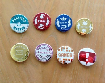 Game Inspired Buttons