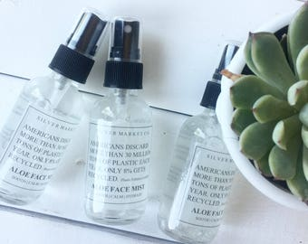Hydrating Face Mist, Moisturize, Sooth, and Calm Aloe Face Mist