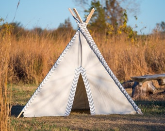 Kid Teepee Tent No. 0307XL - Kid's Extra Large Teepee Play Tent