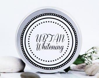 """Ubtan """"Whitening"""", powder wash, powder cleanser, whitening wash, whitening cleanser, anti-blemishes face wash"""