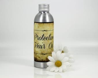 Protective hair oil, nourishing hair oil, dry hair oil, damaged hair oil, coloured hair oil