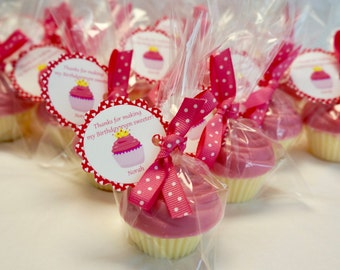 25  CUPACAKE Soap Favors, Favors for Weddings, Showers, Hoot Hoot, Graduation Party, School Party