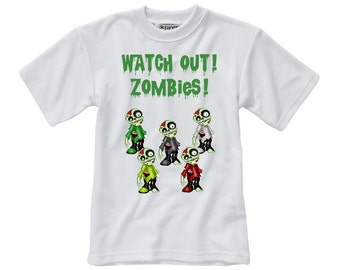 Designed T-Shirt - Zombie - Style 5