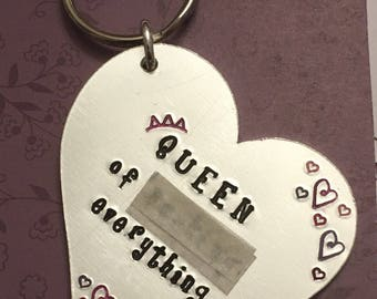 Adult keyring, sweary keyring. Funny gift, adult gift. For her. Rude keyring. Handmade. Free uk p&p