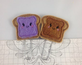 PB and J Planner clips