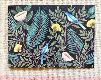 Floral Pattern Greetings Card