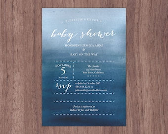 Baby Shower Invitation - Printable Download