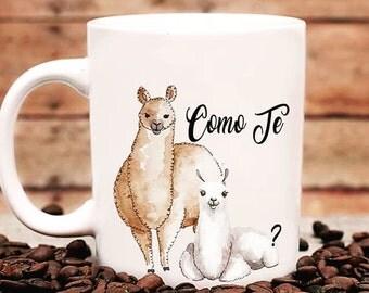 Como Te llama mug. 11 oz.  Funny Mug. Coffee Gift , Funny gift. Coffee Cup