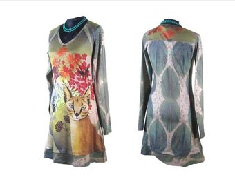 MINI BOHMINIAN DRESS, Boho Hippie Dress, Vintage mini dress, Eclectic bohemian dress, boho mini dress, retro dress, EuropeanRetroFashion