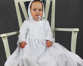 Heirloom Christening Gown with Bonett