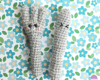 Fork and Knife Crochet pattern The perfect couple! Amigurumi Food