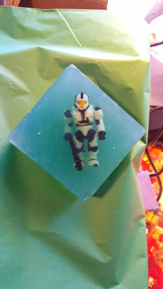 Halo Fun Soap by WTF Soap With Master Chief or Soldier