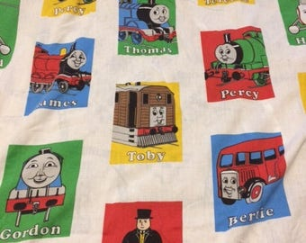 Thomas The Tank Train Fleece Throw Blanket Soft Warm Wall