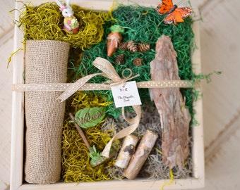Easter Fairy Garden, Easter Fairy Garden Kit, Fairy Garden, Fairy Garden Accessories, Fairy Garden Birthday Party, Easter Kids, Easter Gift