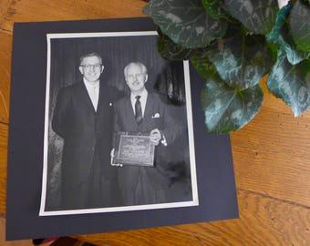 Rare Vintage Photo of Magician Dai Vernon Receiving Star of Magic Award / 1959