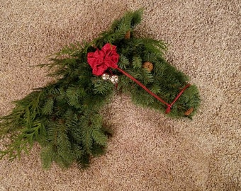 Horse head wreaths