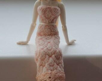 "Porcelain Woman BJD 1/12 dollhouse by N.Yaskova (6"", 14.8 cm)"