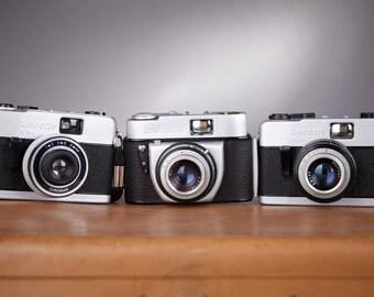 Film cameras Beirette. Lot 3 cameras Beirette. Beirette, Beirette VSN and Beirette K100. German cameras.