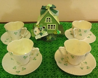 Belleek Tea cups 1946-1955
