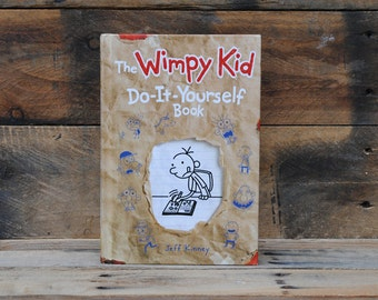 Hollow Book Safe - The Wimpy Kid - Do-It-Yourself Book
