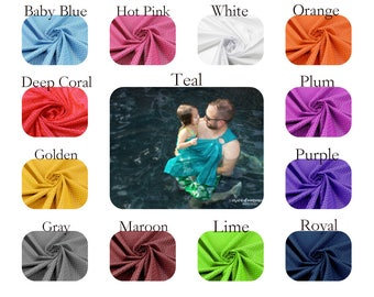 Bibetts Summer Water Ring Sling Baby Carrier - CPSIA compliant - Infant, Toddler and Baby Carrier